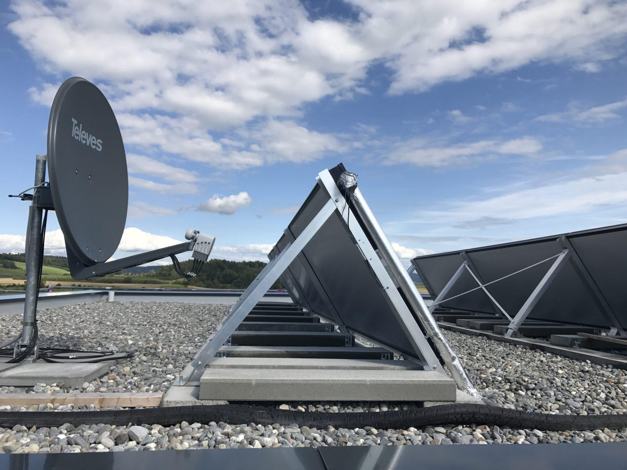 Solarwärme-Dach-Nabenhauer