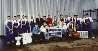 Die Belegschaft im Jubiläumsjahr 1995