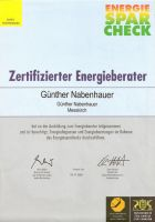 Energieberater EnergieSparCheck [Nov. 2001]
