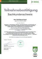 Neuer Kälteschein für Elektrofachleute [April 2010]