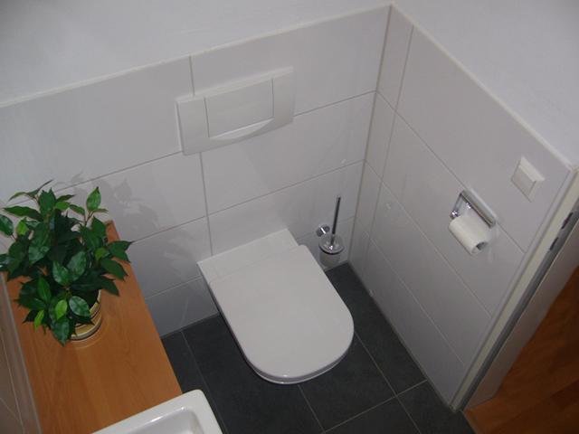 Sanierung eines Gäste WCs
