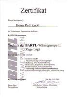 Schulung Technik Regelung Wärmepumpe [Jan. 2009]