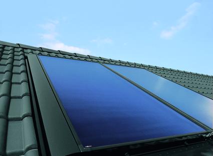 Solarwärme Dach